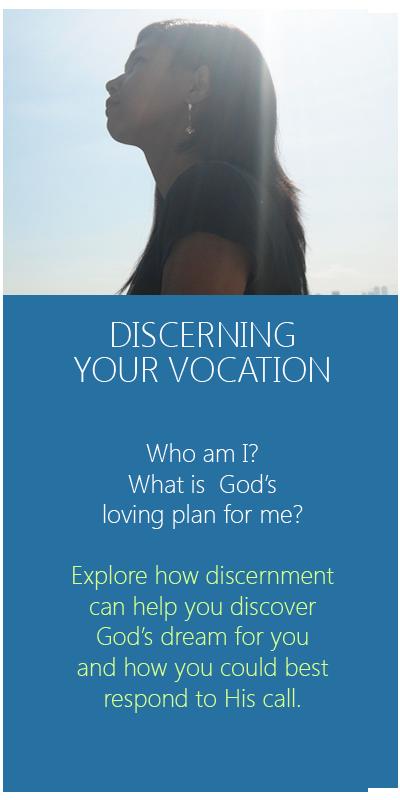 be a salesian sister - fmafil icon - discernment