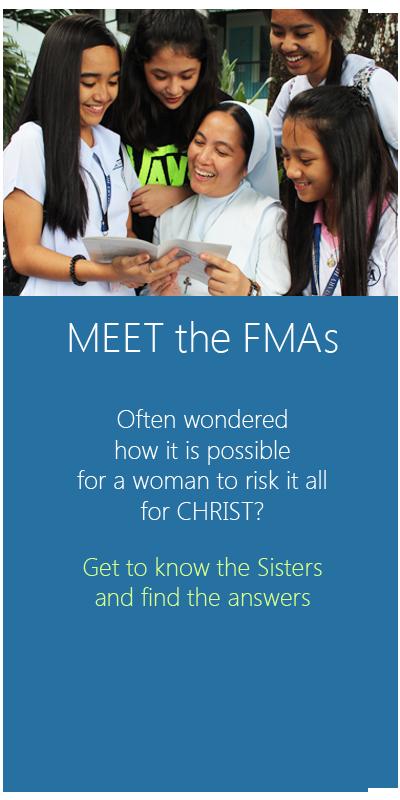 be a salesian sister - fmafil icon - meet the fmas